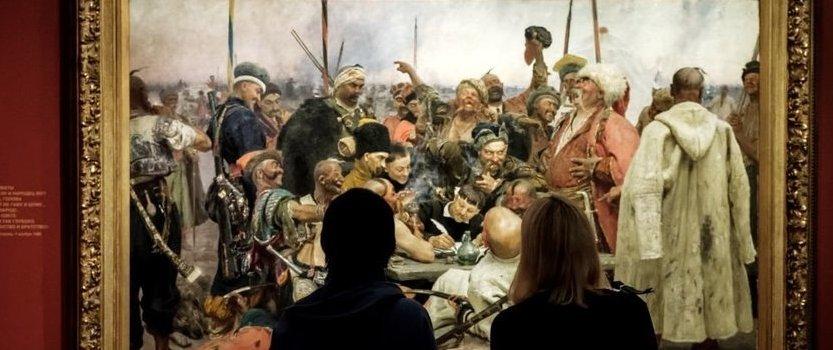 (RU) Культурный променад по выставке Ильи Репина