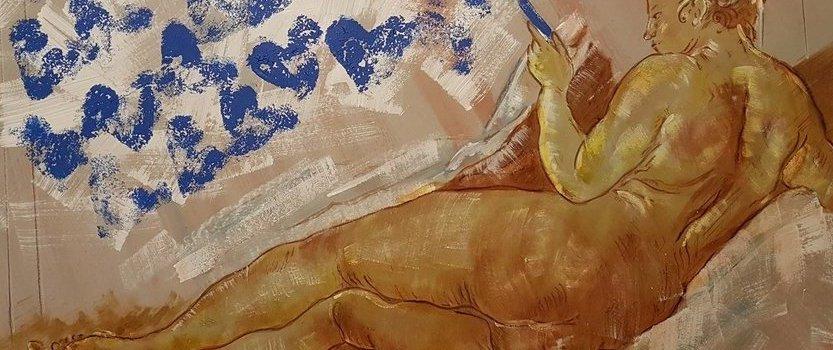 Выставка Алексея Хвостова «Части Тел»